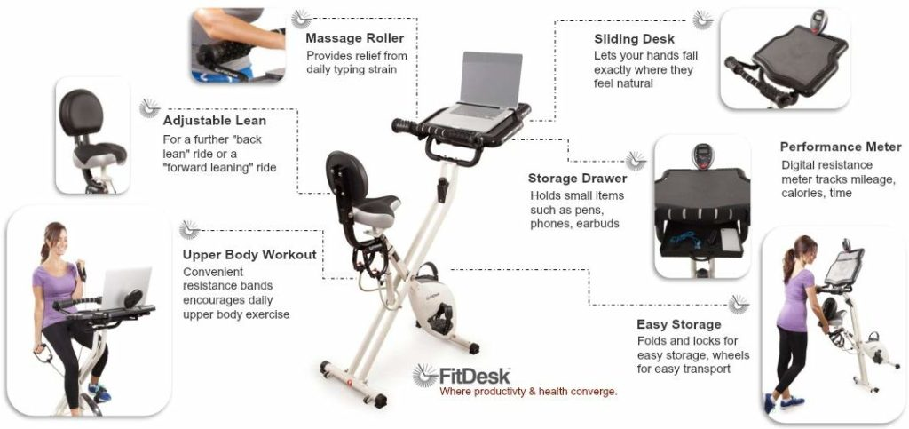 FitDesk Desk Exercise Bike 3